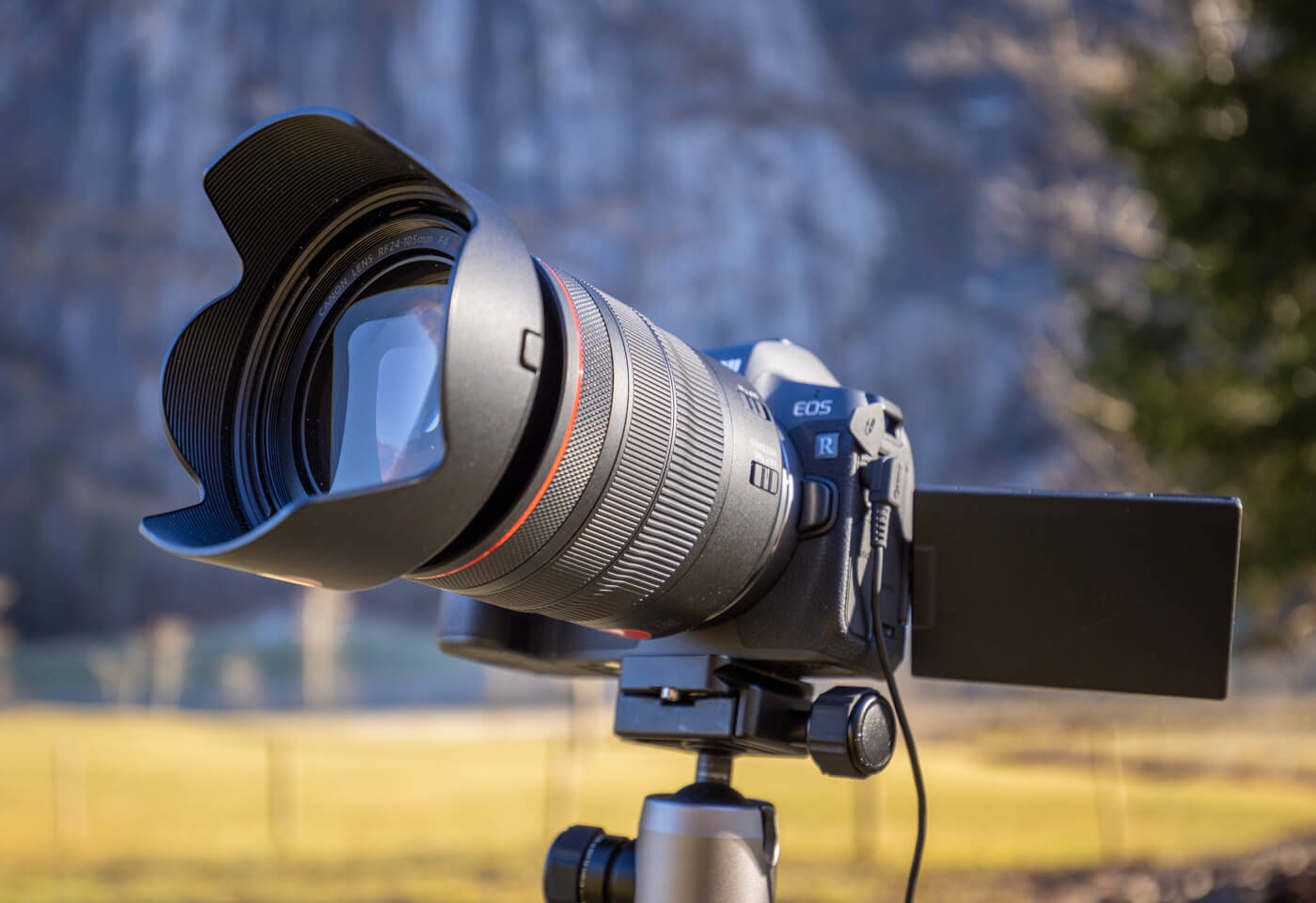 Product image of Canon EOS R with RF 24-105mm f/4L IS USM