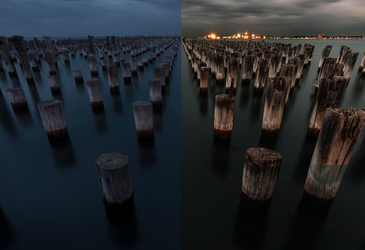 Comparison image of edit