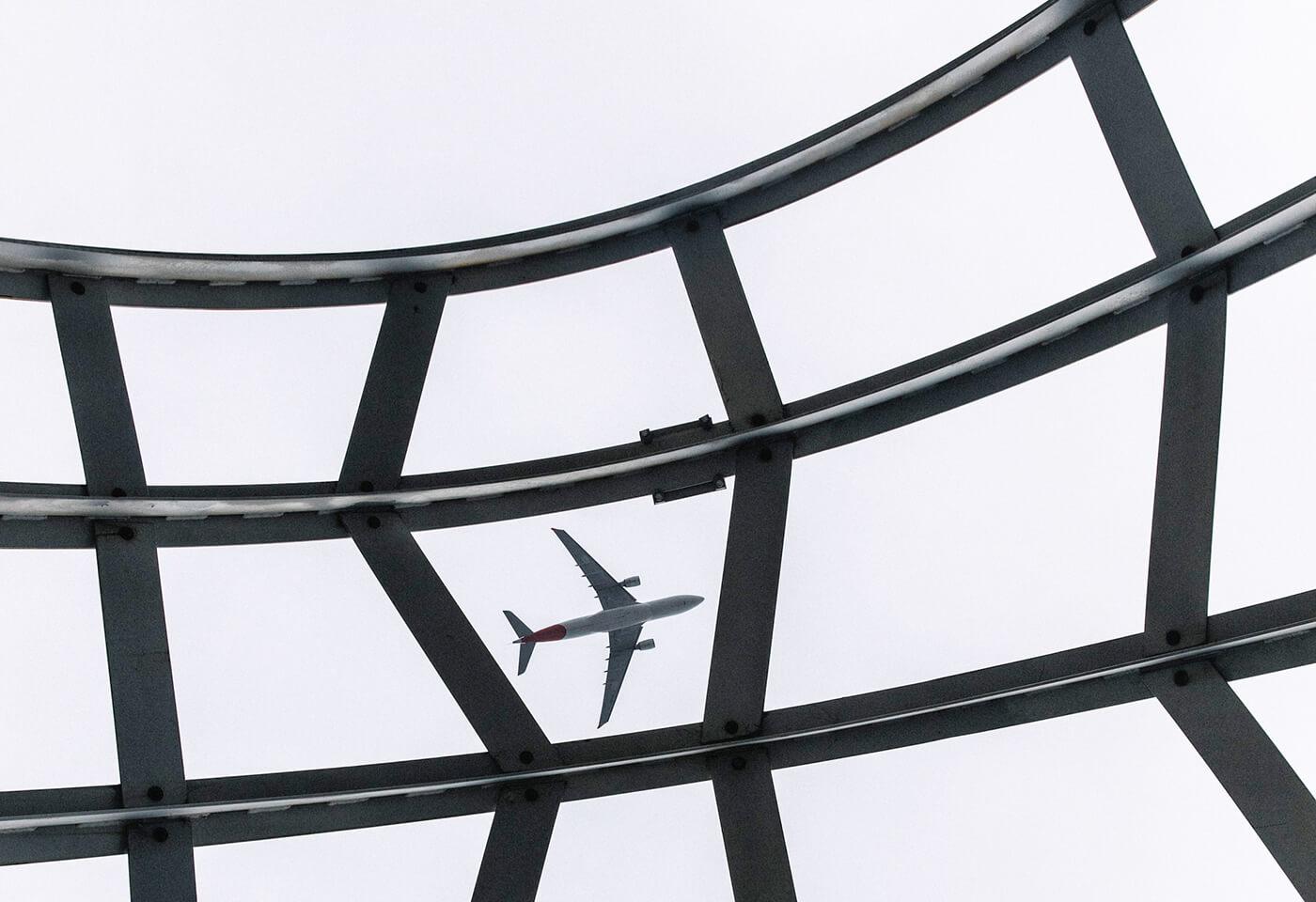 Multiple Exposures Airplane