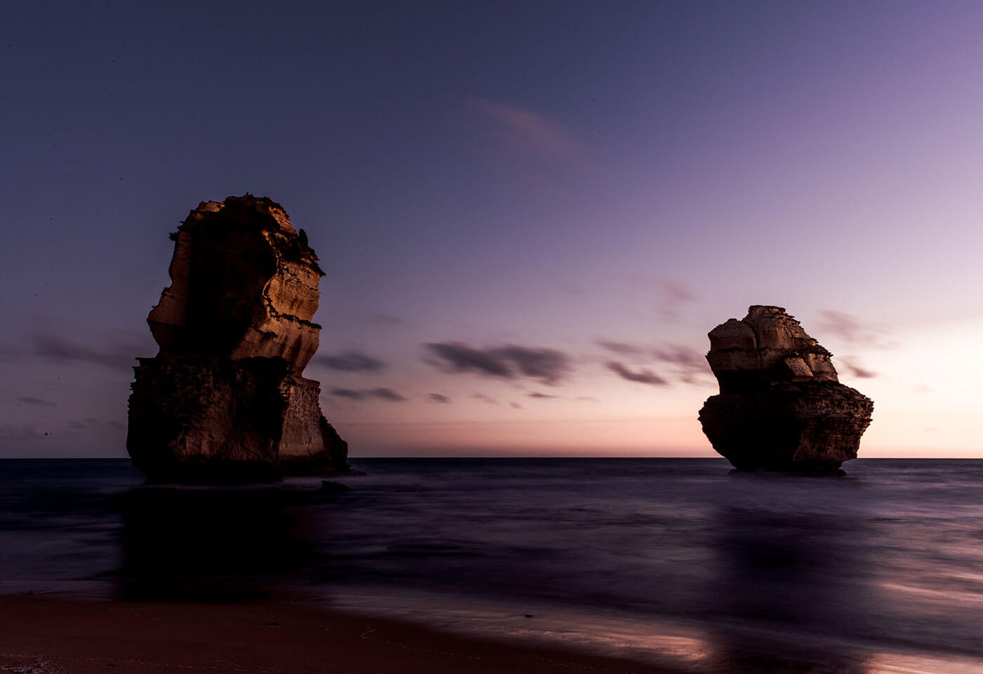 Long exposure photo of Twelve Apostles