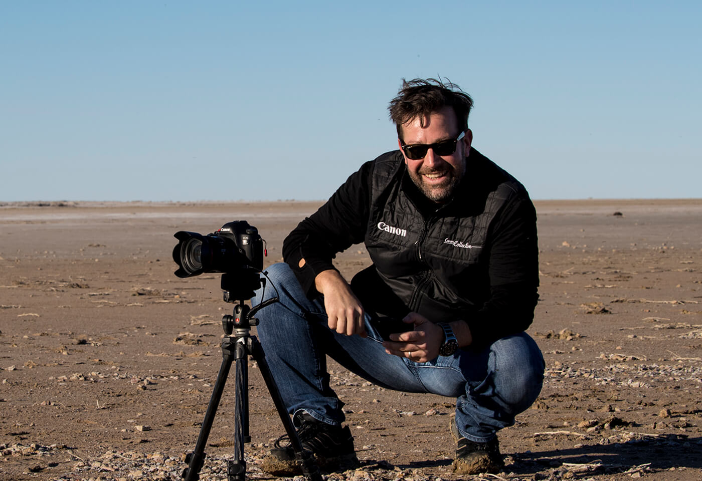 Canon Collective Ambassador Steve Huddy