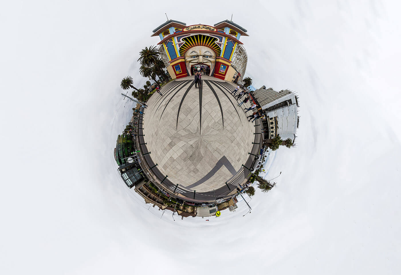 Little planet panorama by Jay Collier