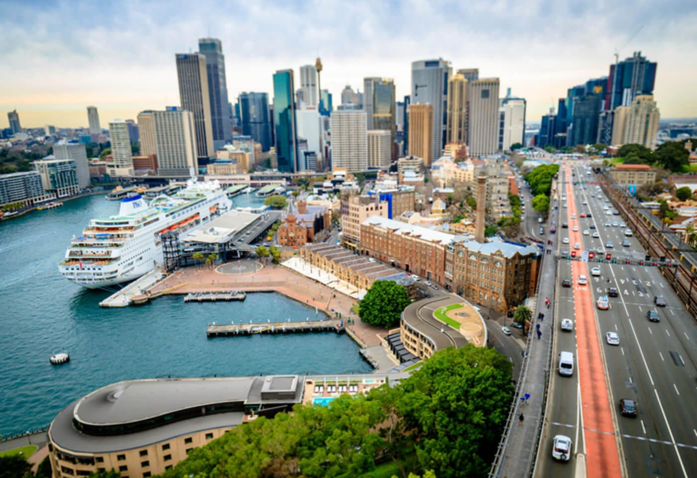 Photograph of Sydney city