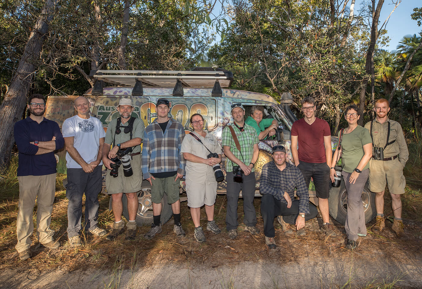Steve Irwin Wildlife Reserve Team