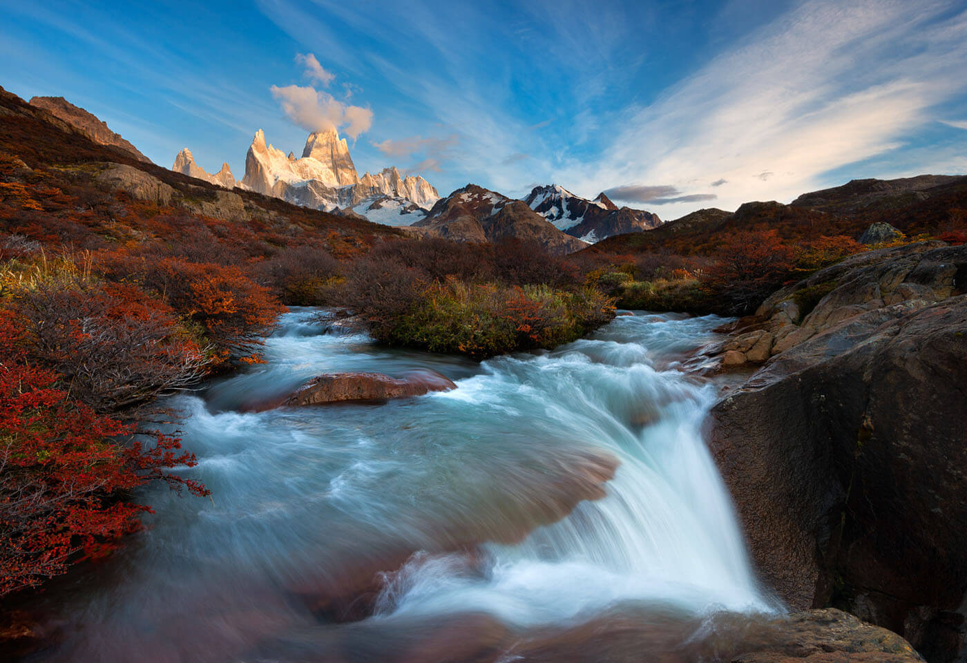 Landscape image of Patagonia