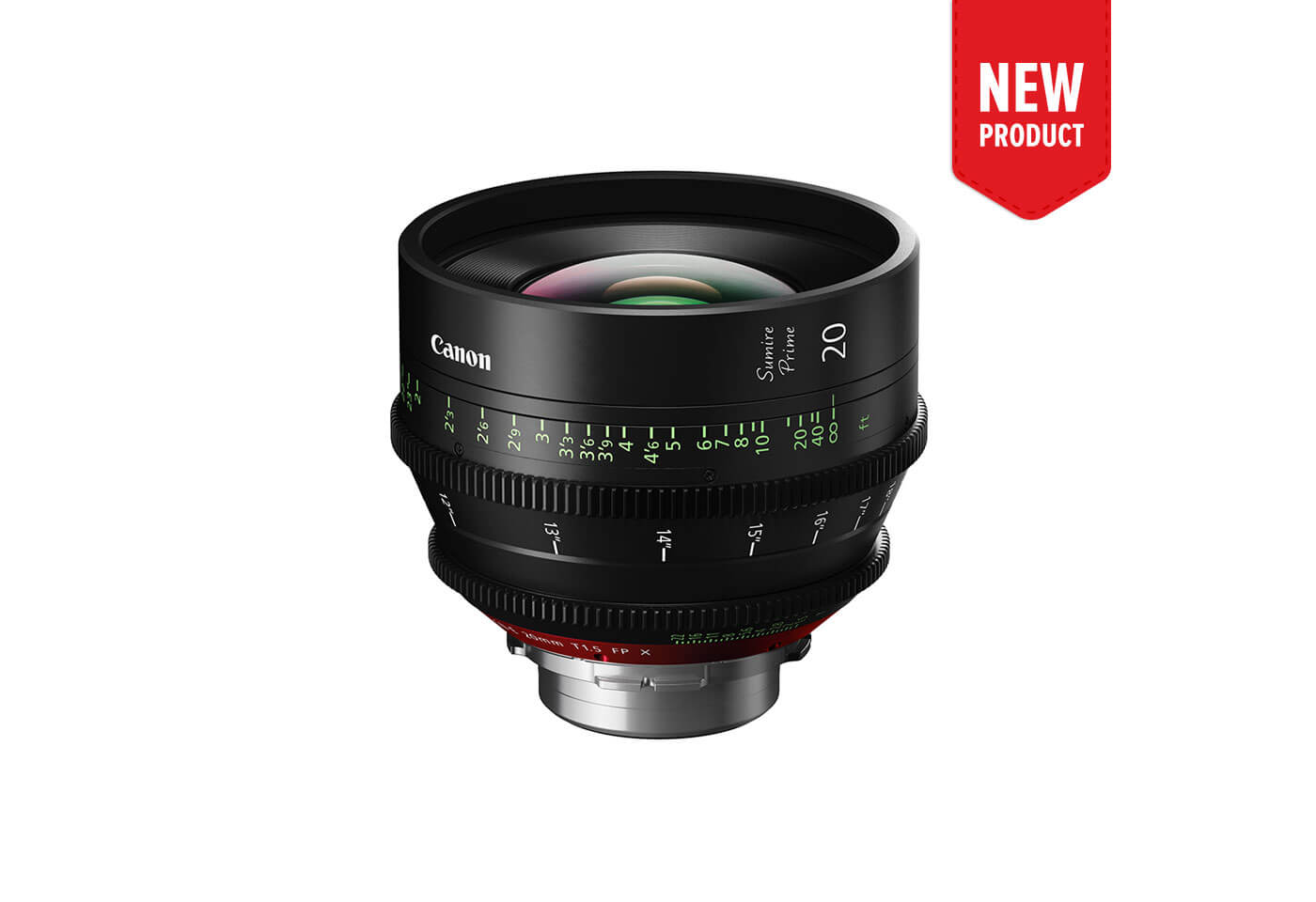 Product image of CN-E20mm T1.5 FP X