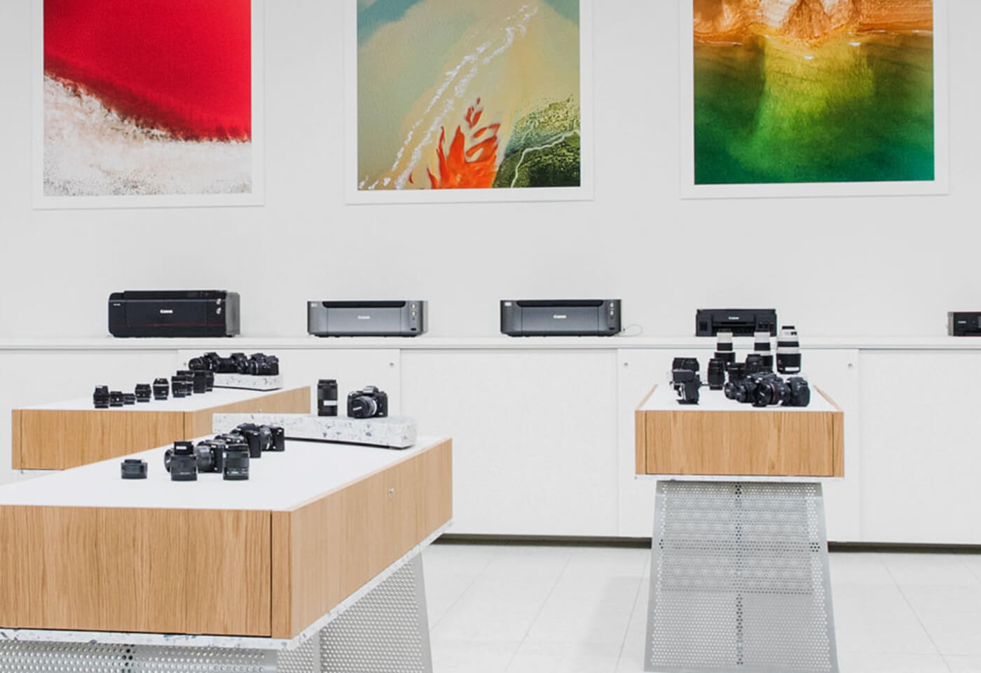 Insitu image at Canon Experience Store