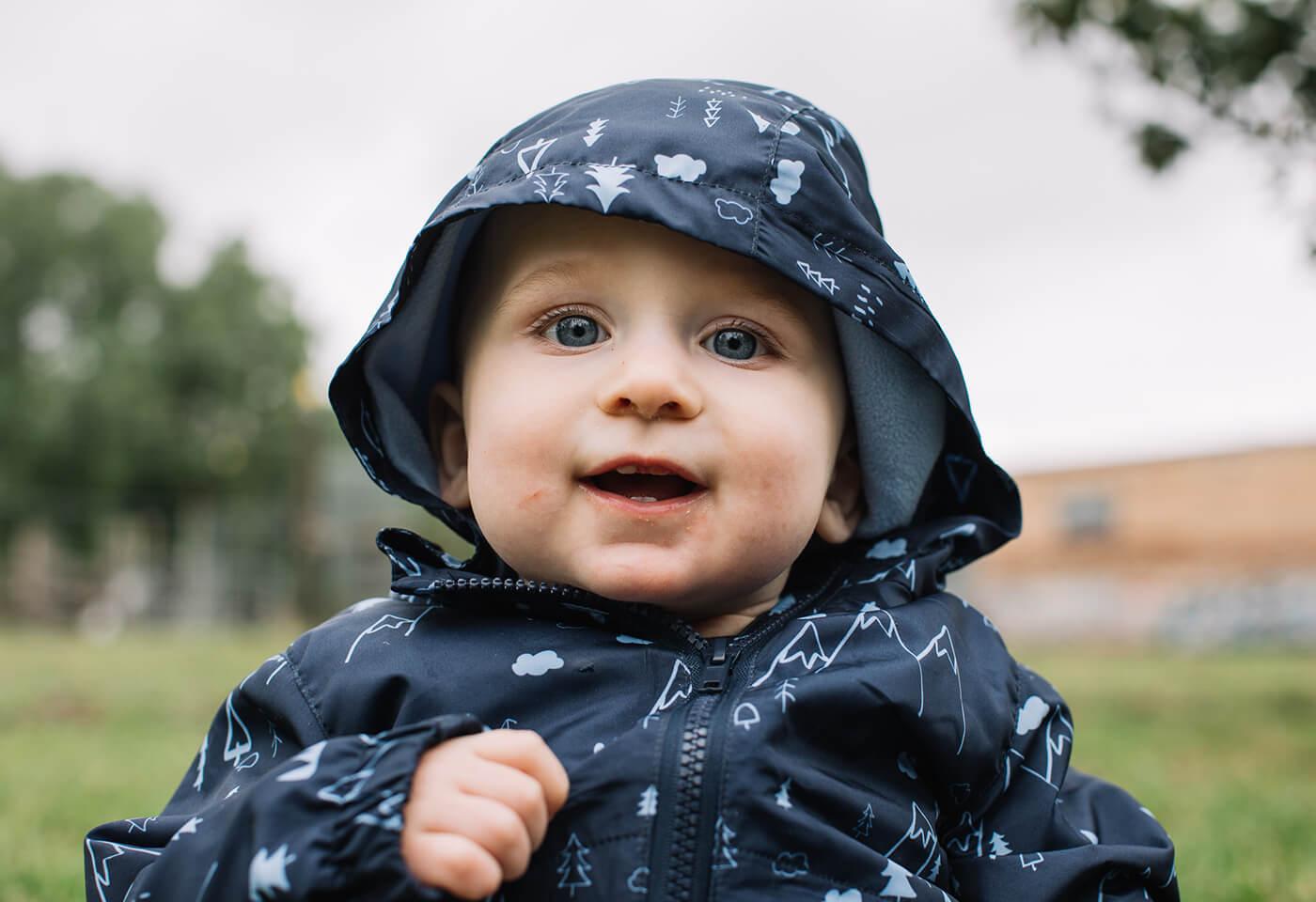 Portrait image of baby