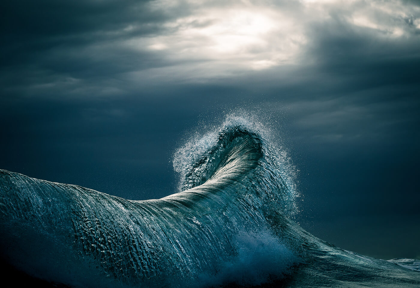 Landscape image of wave