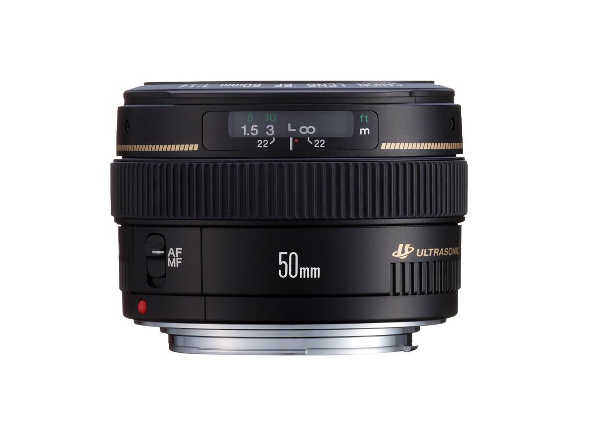 EF 50mm f/1.4 USM lens