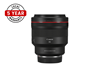 Product image of RF 85mm f/1.2L Prime lens