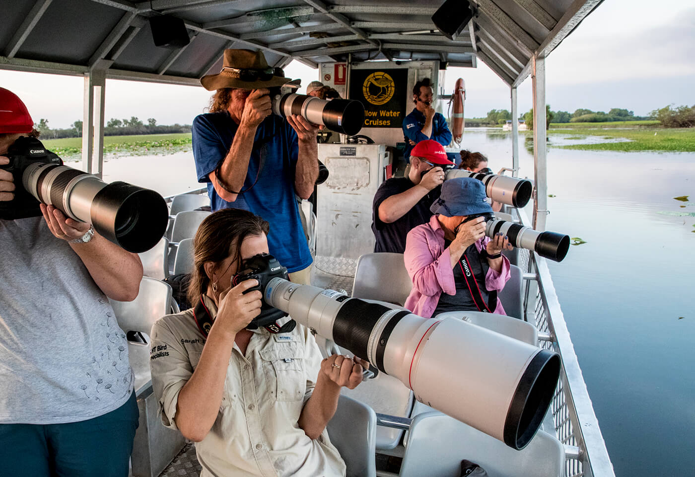 Photographing wildlife image by Jay Collier