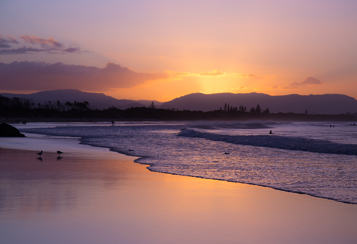 Byron Bay Sunset image