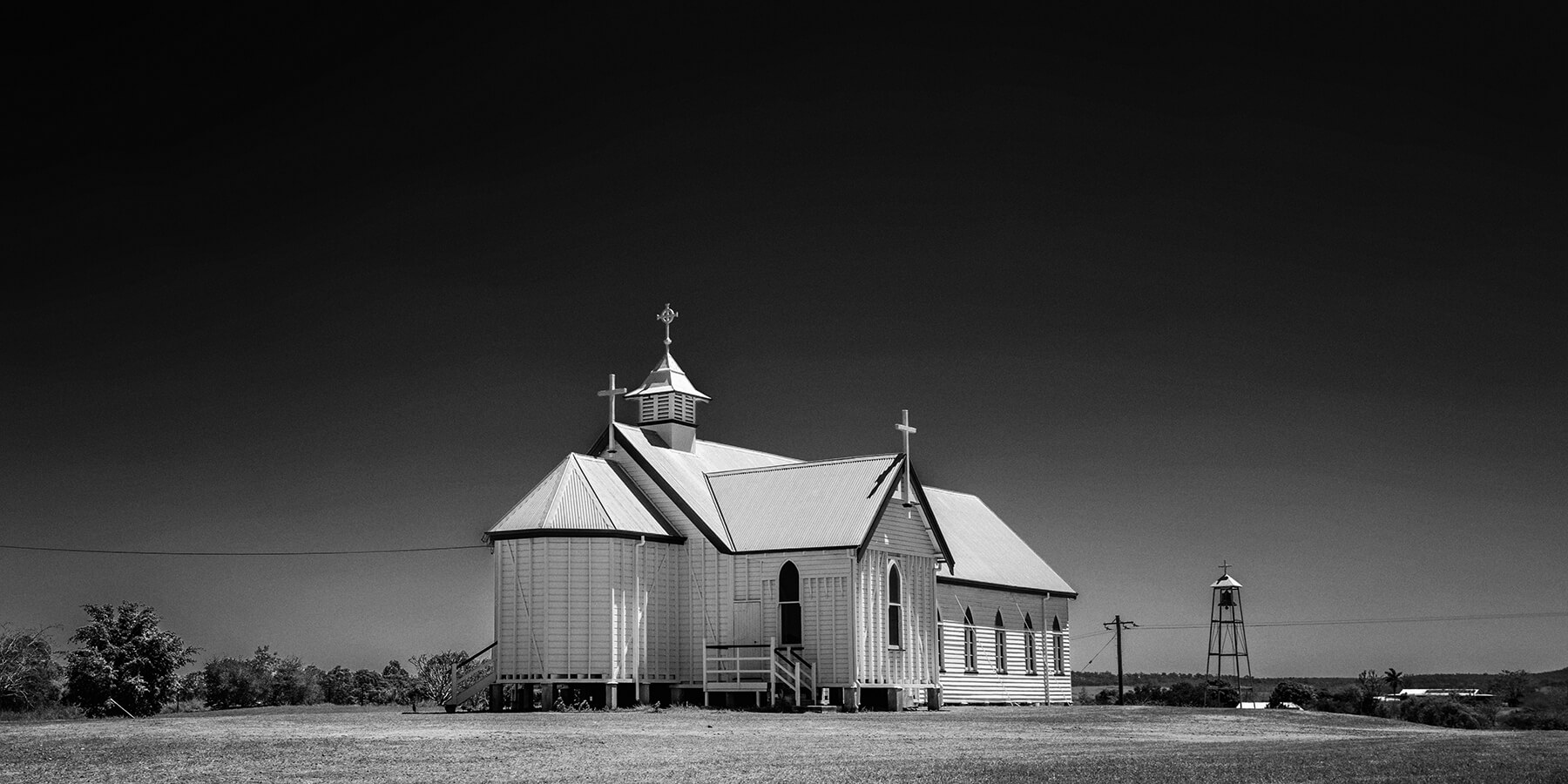 Image of a church at Ravenswood by Greg Sullavan