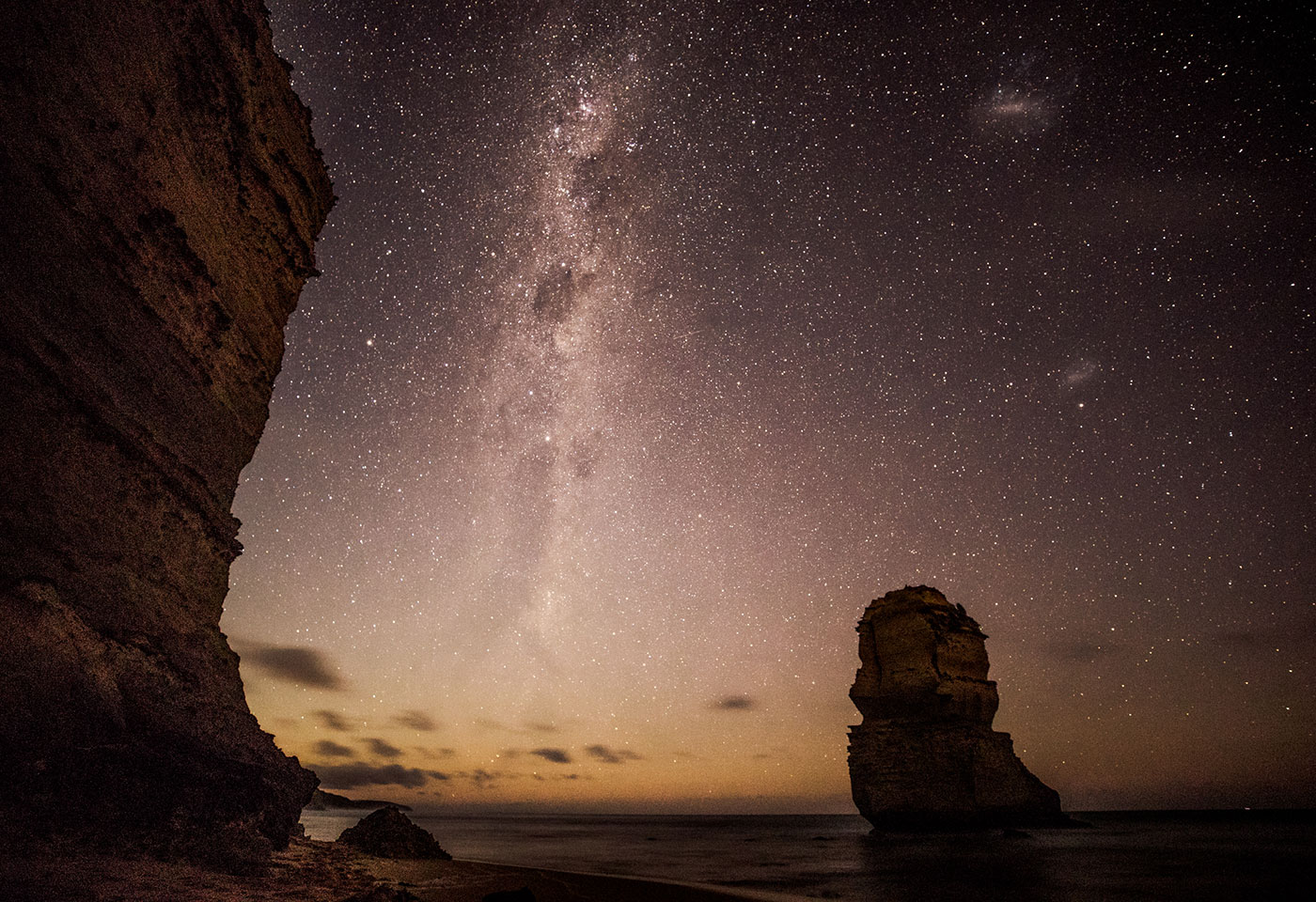 Astrophotography at Great Ocean Road by Neal Walters