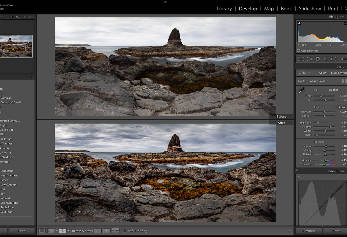 Adobe Lightroom tutorial by Jay Collier