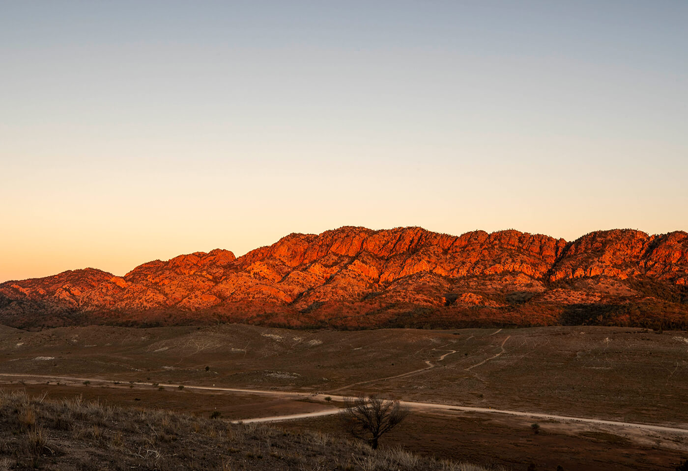 Sunset Photography at Simpsons Gap by Steve Huddy
