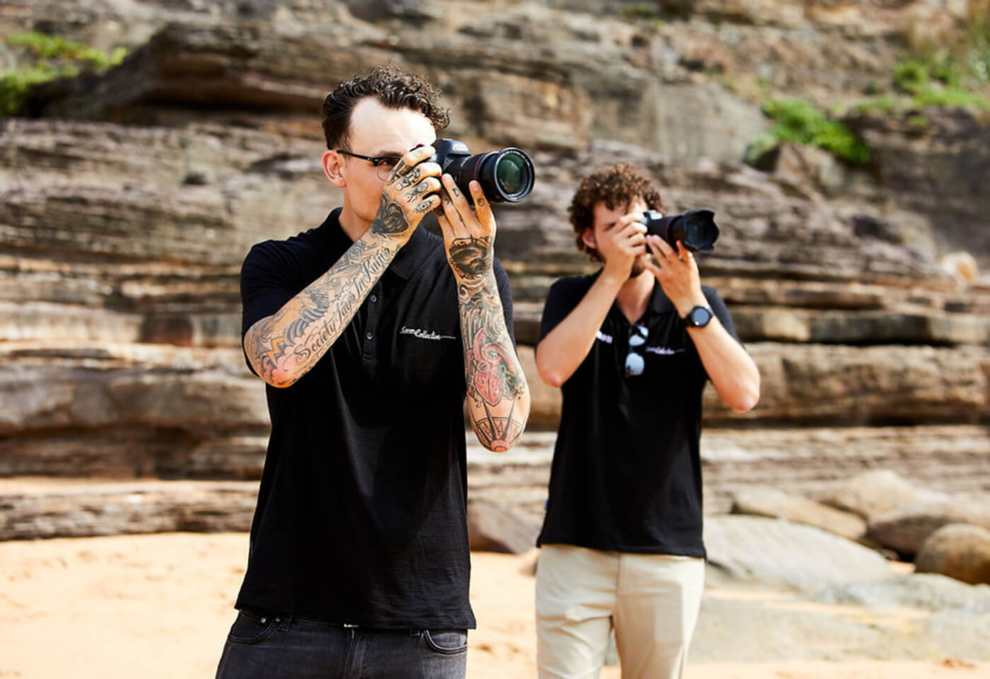 Canon Collective Ambassadors Neal Walters and Scott Stramyk
