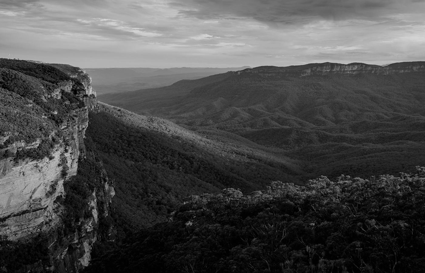 Landscape image of mountainscape