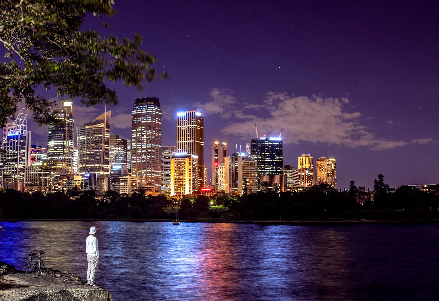 Sydney Skyline by Scott Stramyk