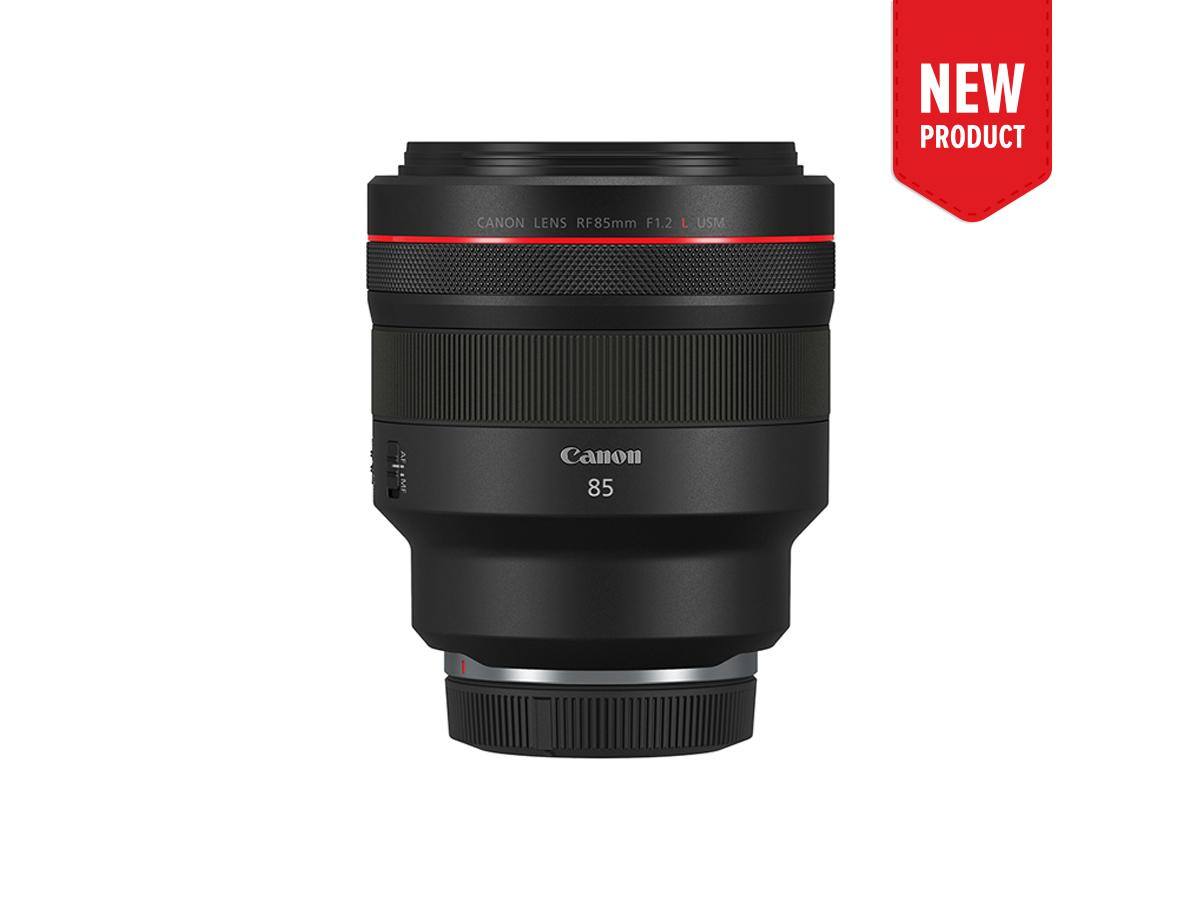 Product image of RF 85mm f1.2L USM prime lens