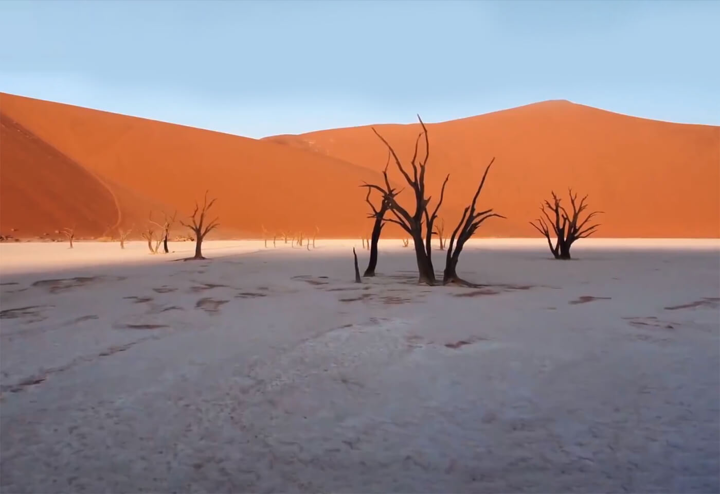 Landscape image of desert