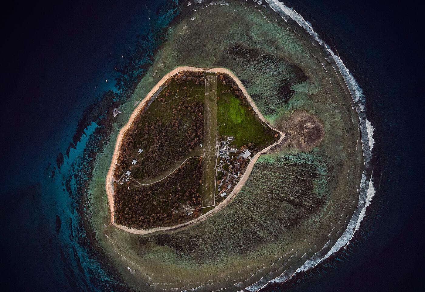 Aerial Image of Lady Elliot Island