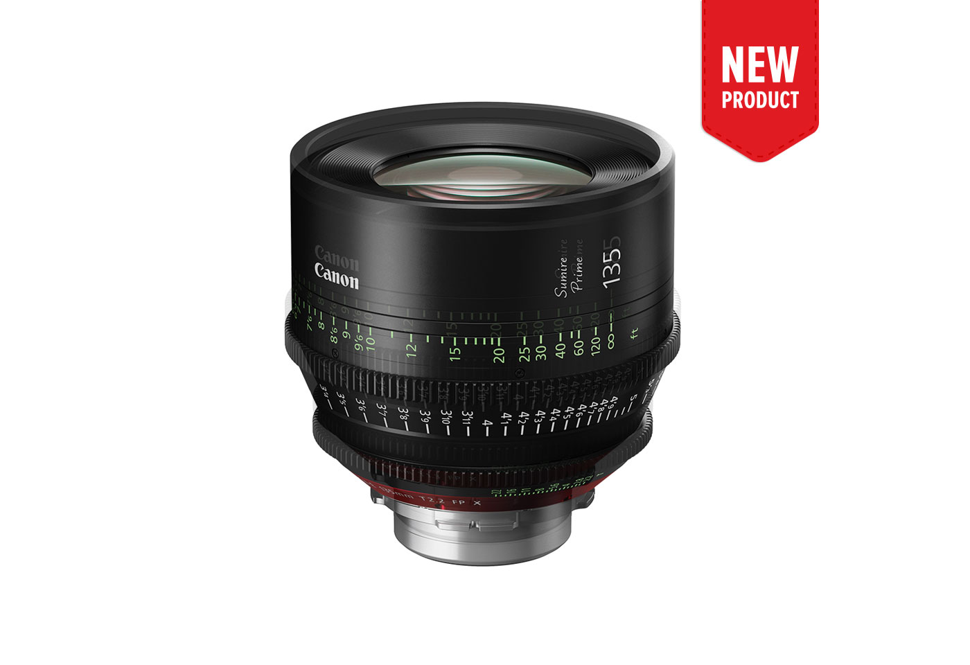 Product image of CN-E135mm T2.2 FP X
