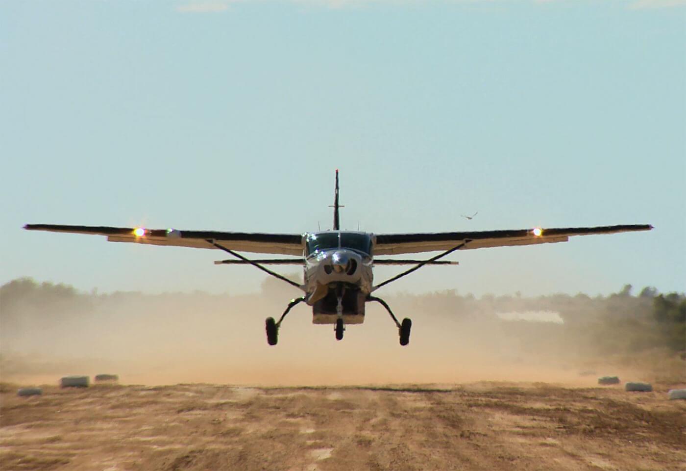 Landscape image of plane