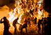 Richard I'Anson photographs Bhutan Fire Festival