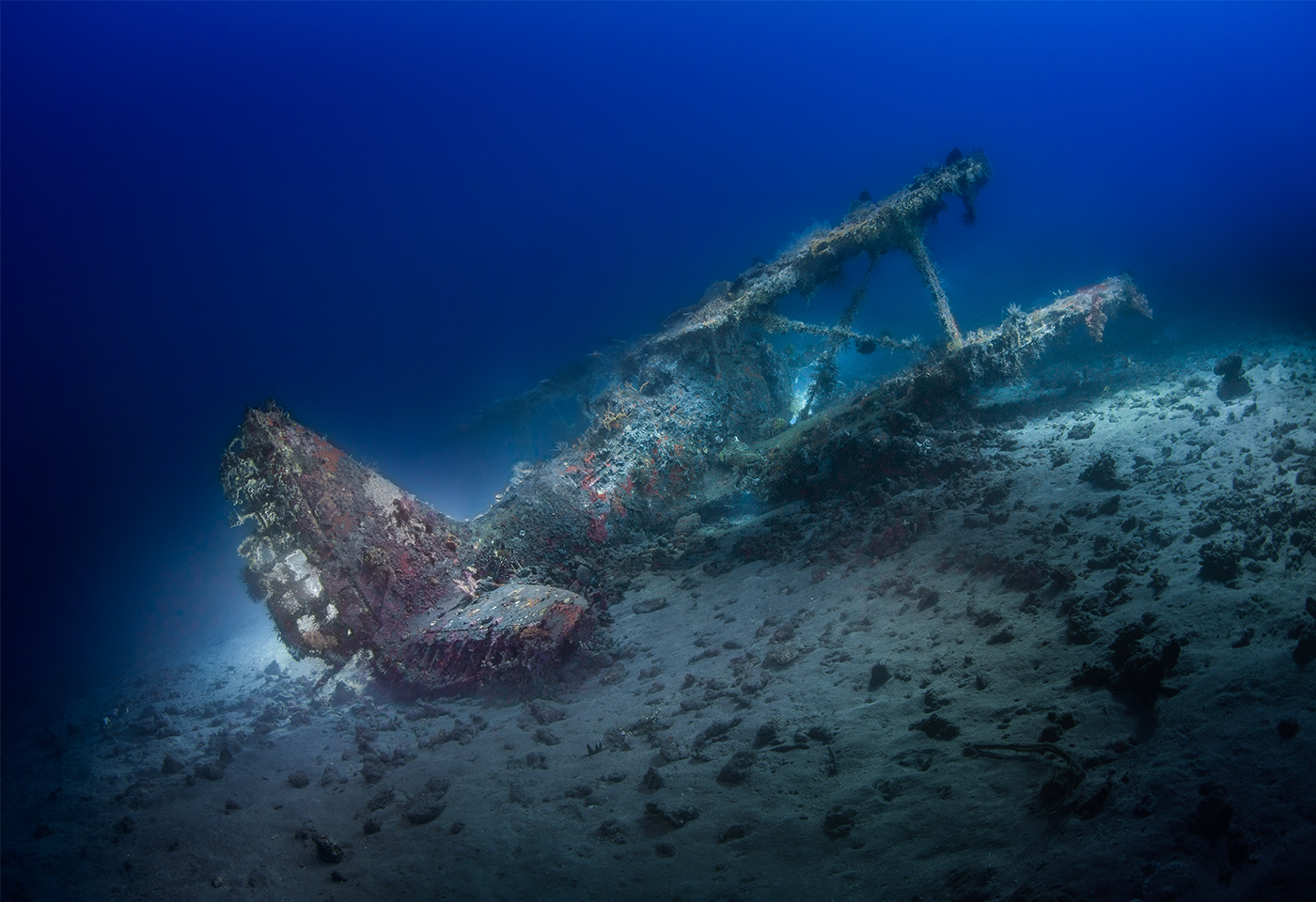 Light Painting Underwater