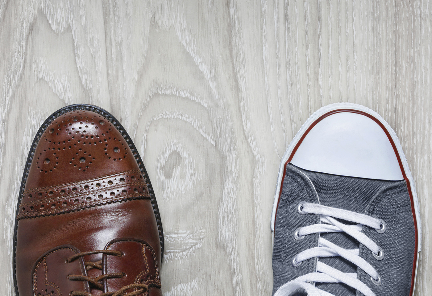 Corporate and casual shoe