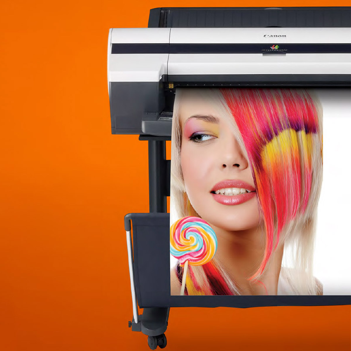 Trade in your old large format printer