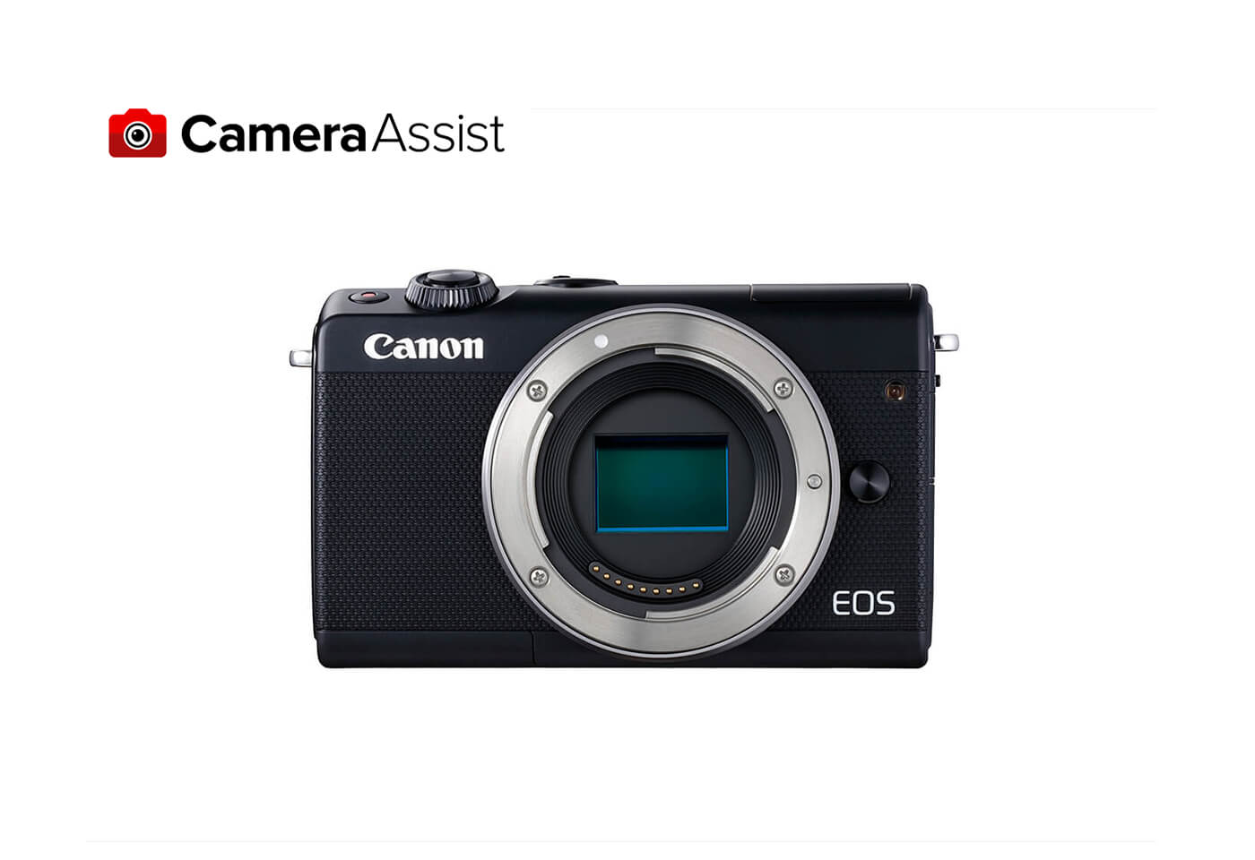 EOS M100 front image