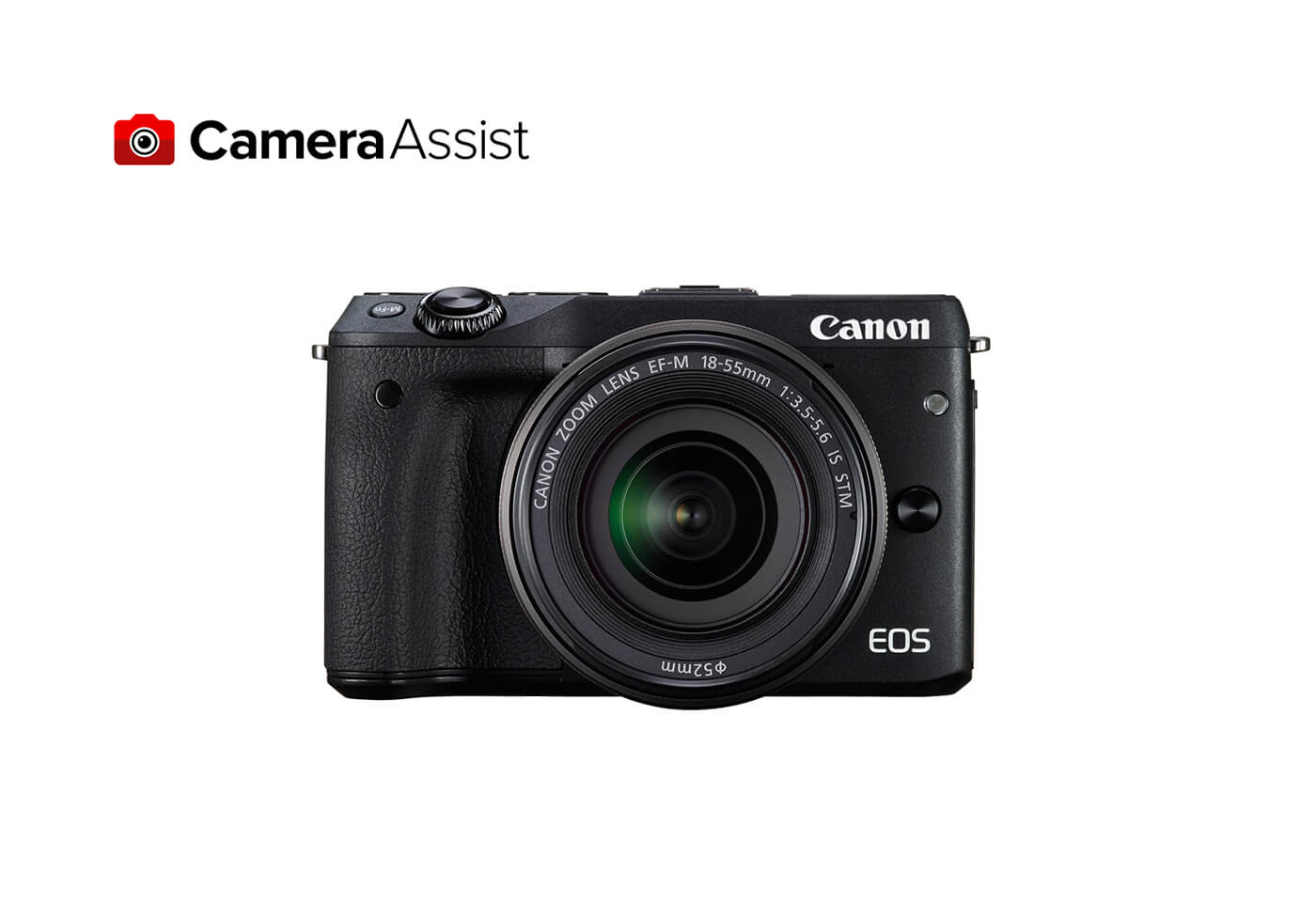 EOS M3 front image