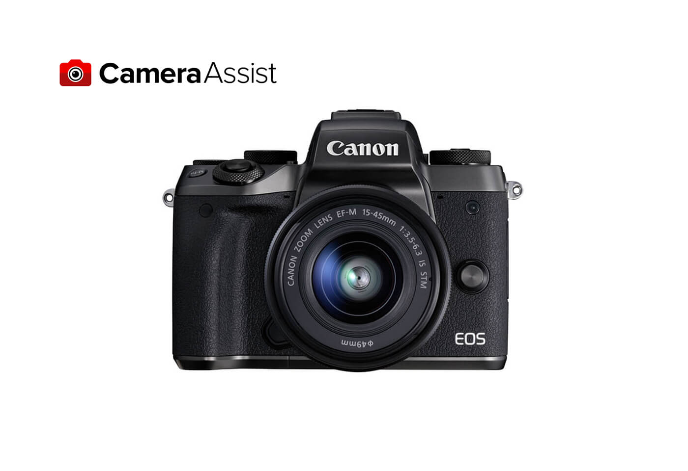 EOS M5 front image