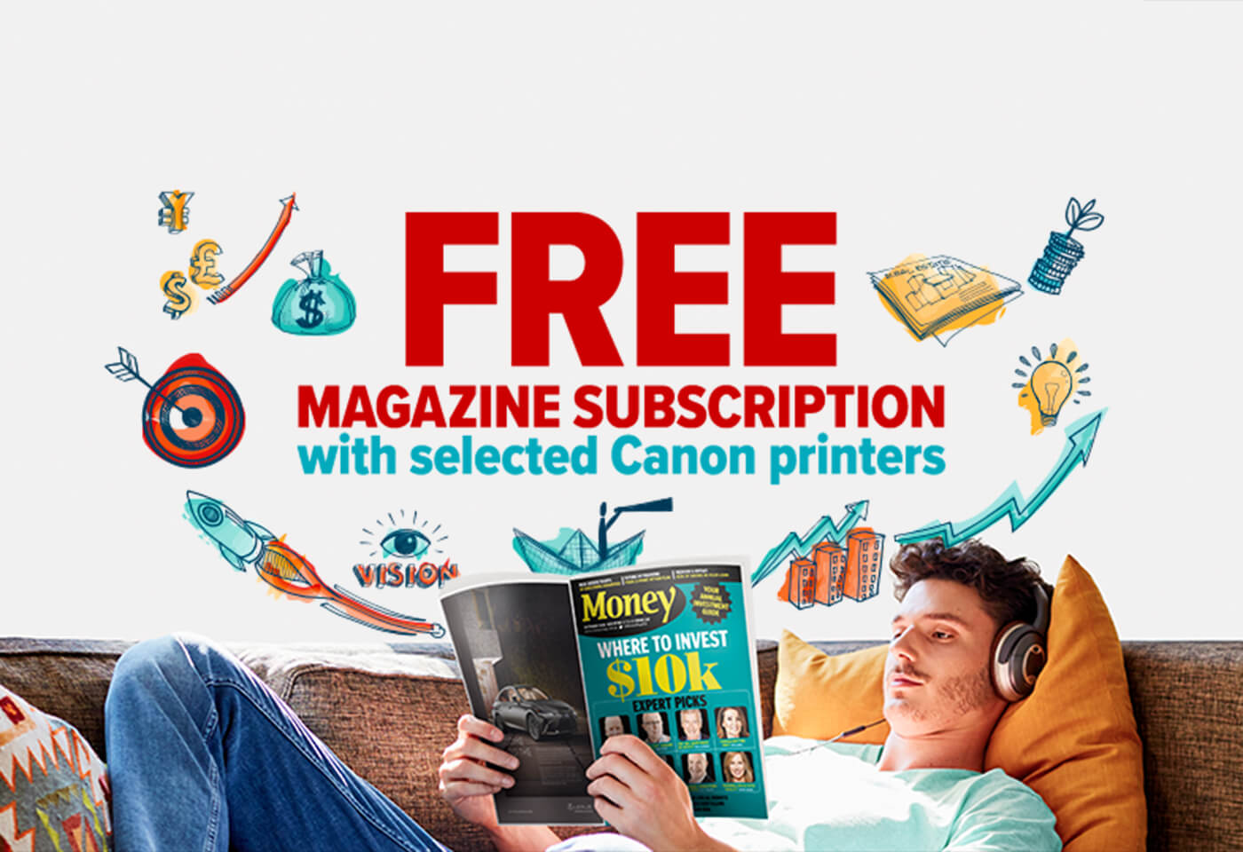 Image of Canon Back to School promotion