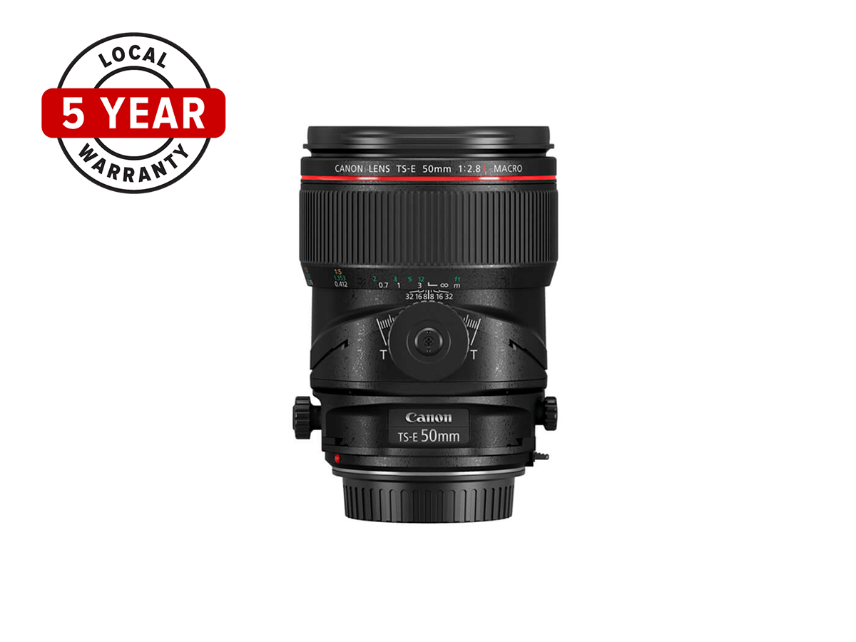 TS E 50mm f28L Macro Tilt Shift lens product image