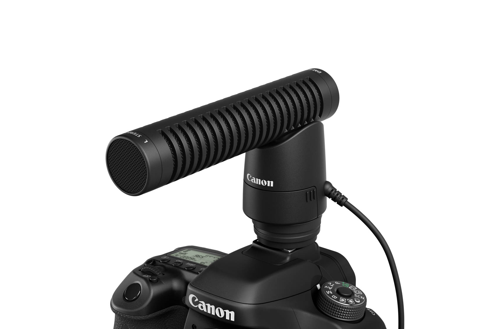 captured oCanon Directional Stereo Microphone DM-E1