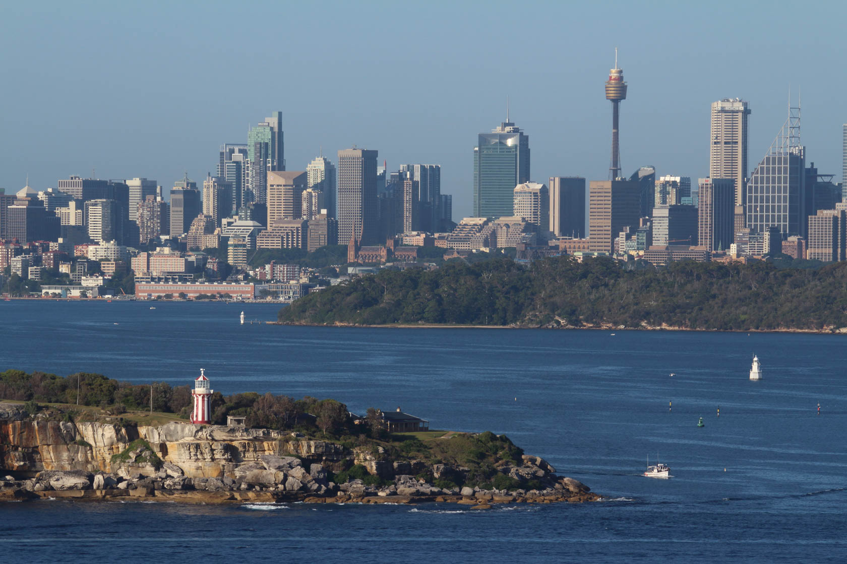 Sydney Harbour taken with Canon EF-M 55-200 IS STM lens