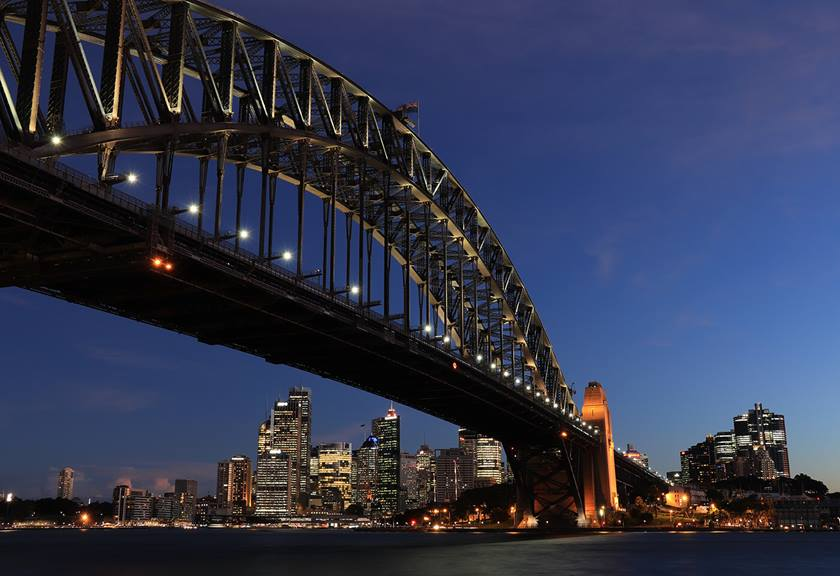 Image of Harbour Bridge - Sample image taken with Canon 200D