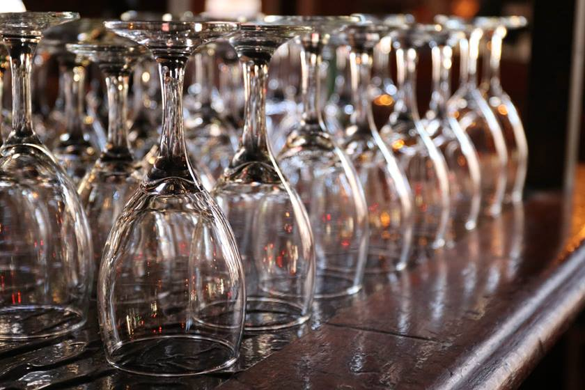Wine glasses taken with Canon EOS 80D DSLR camera