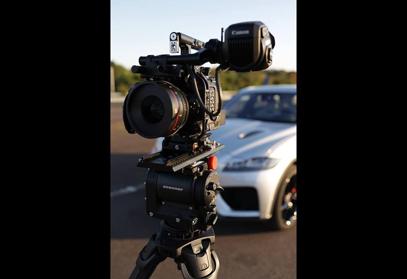 EOS C500 Mark II setup