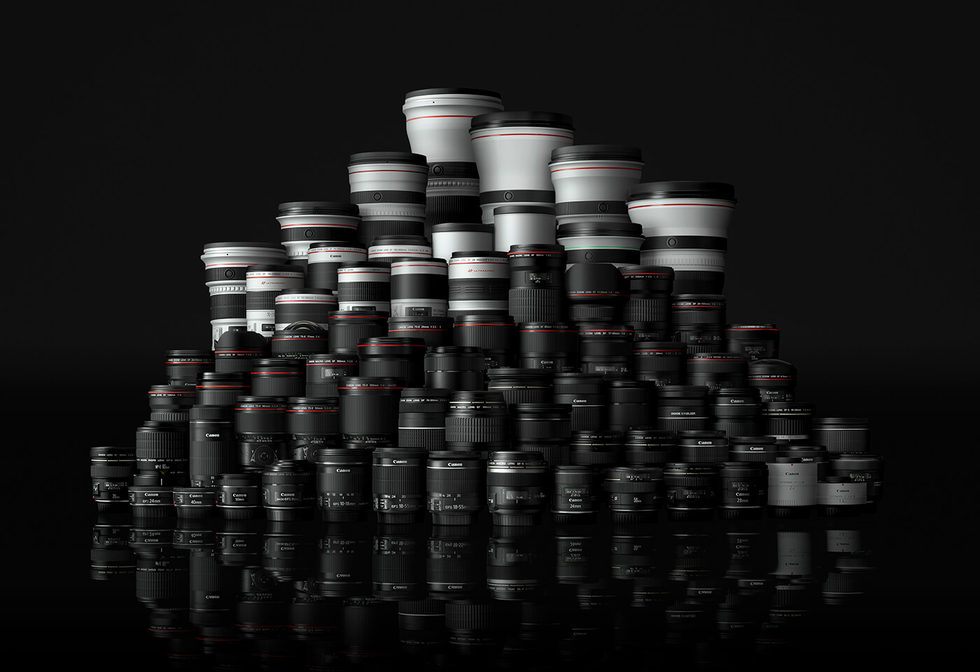 Family of Canon EOS lenses