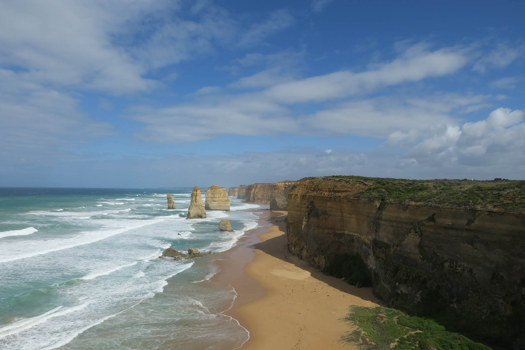 Twelve apostles taken on the Canon PowerShot G3 X digital camera