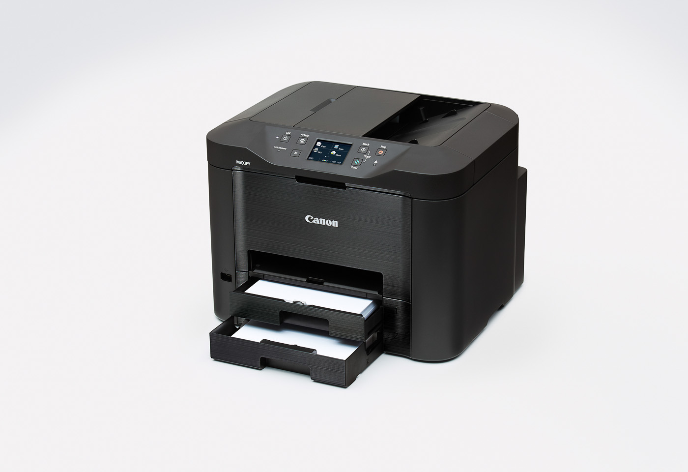 maxify mb5360 showing both paper trays