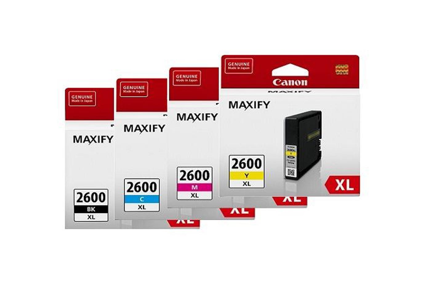 maxify inks 2600