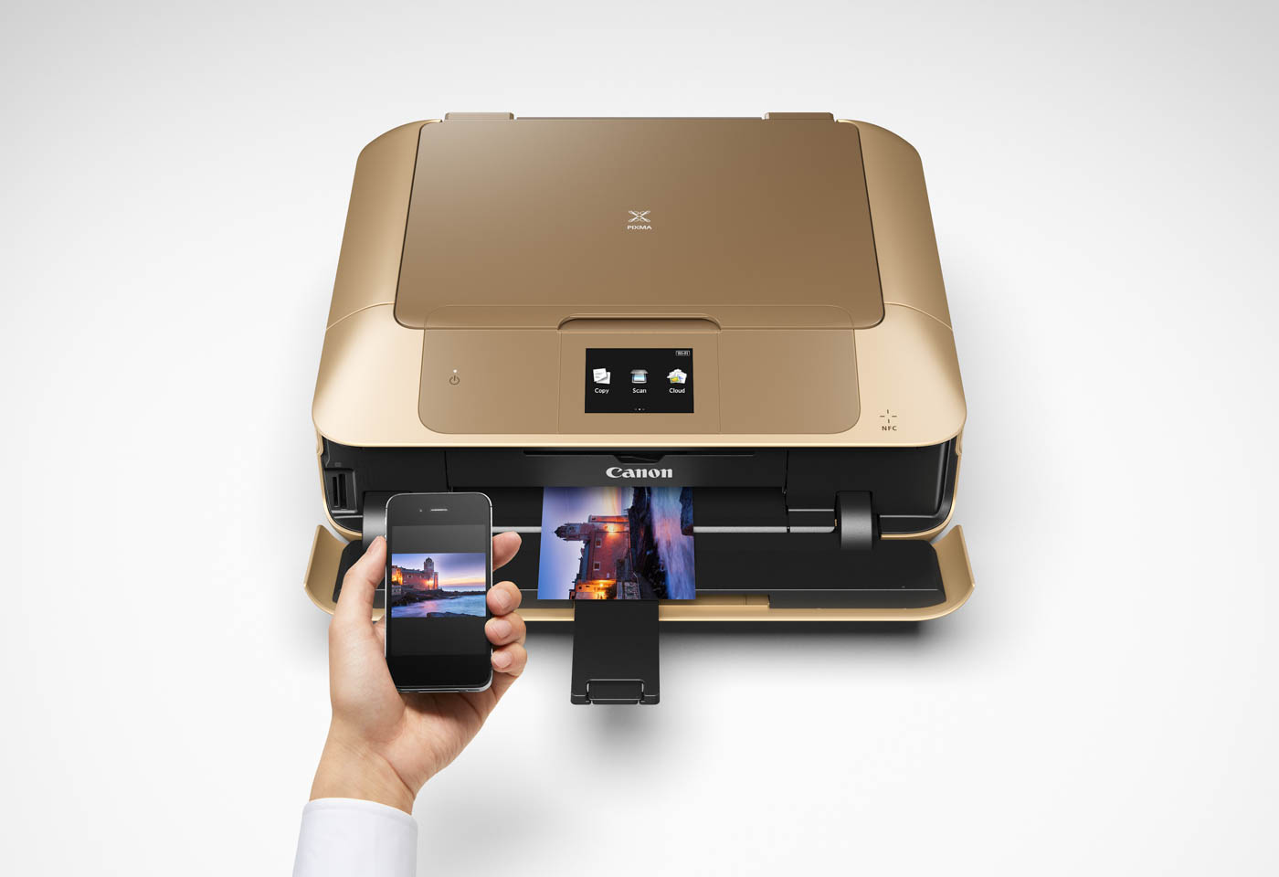 Canon PIXMA Gold MG7766 with smart devices