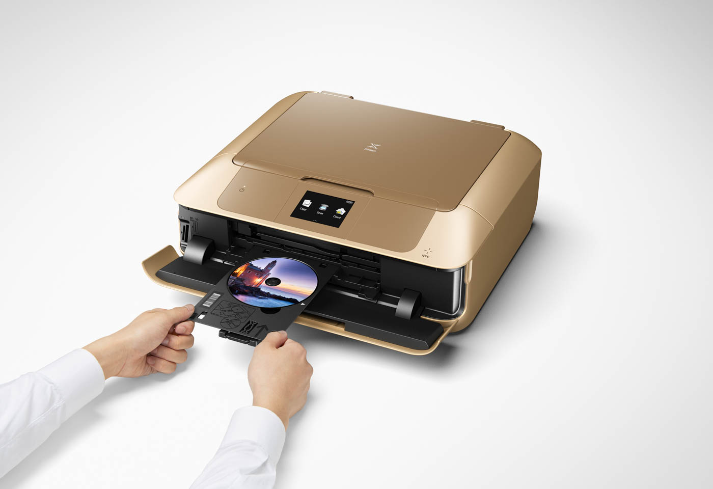 Canon PIXMA Gold MG7766 printer with CD