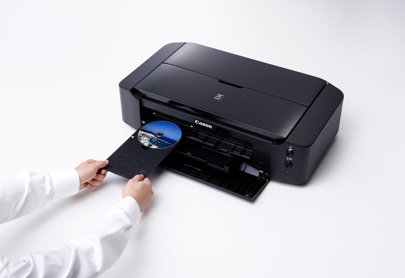 printing onto a CD with the pixma ip8760